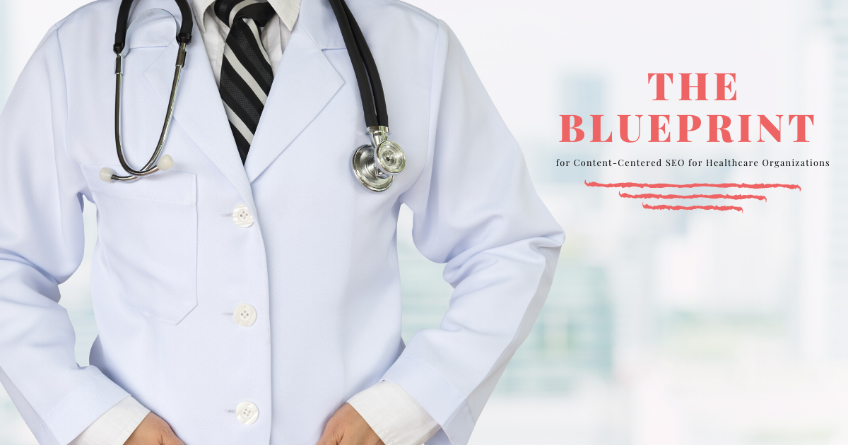 healthcare doctor with hands in his coat - SEO for healthcare organizations