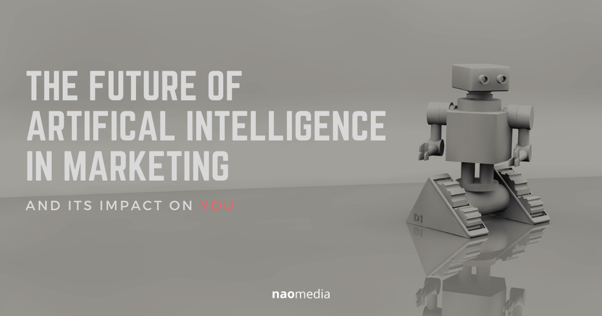 a mini robot - the future of artificial intelligence in marketing